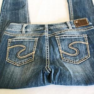 Silver SUKI Slim Bootcut Jeans Women's